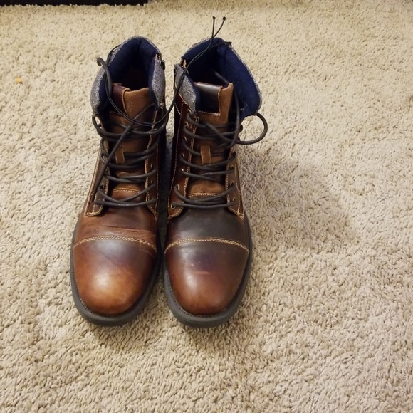 Nwt Mens Leather Express Casual Boots